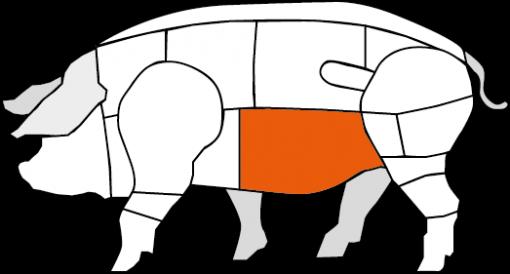 Bauchfleisch vom Schwäbisch Hällischen Landschwein