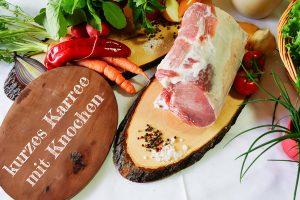 Kotelett - Qualitätsschweinefleisch vom Biohof Hubicek